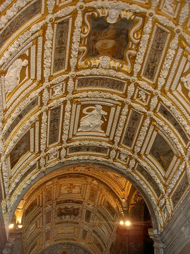Vuelos A Venecia Desde Buenos Aires: techo de la basílica de San Marcos.